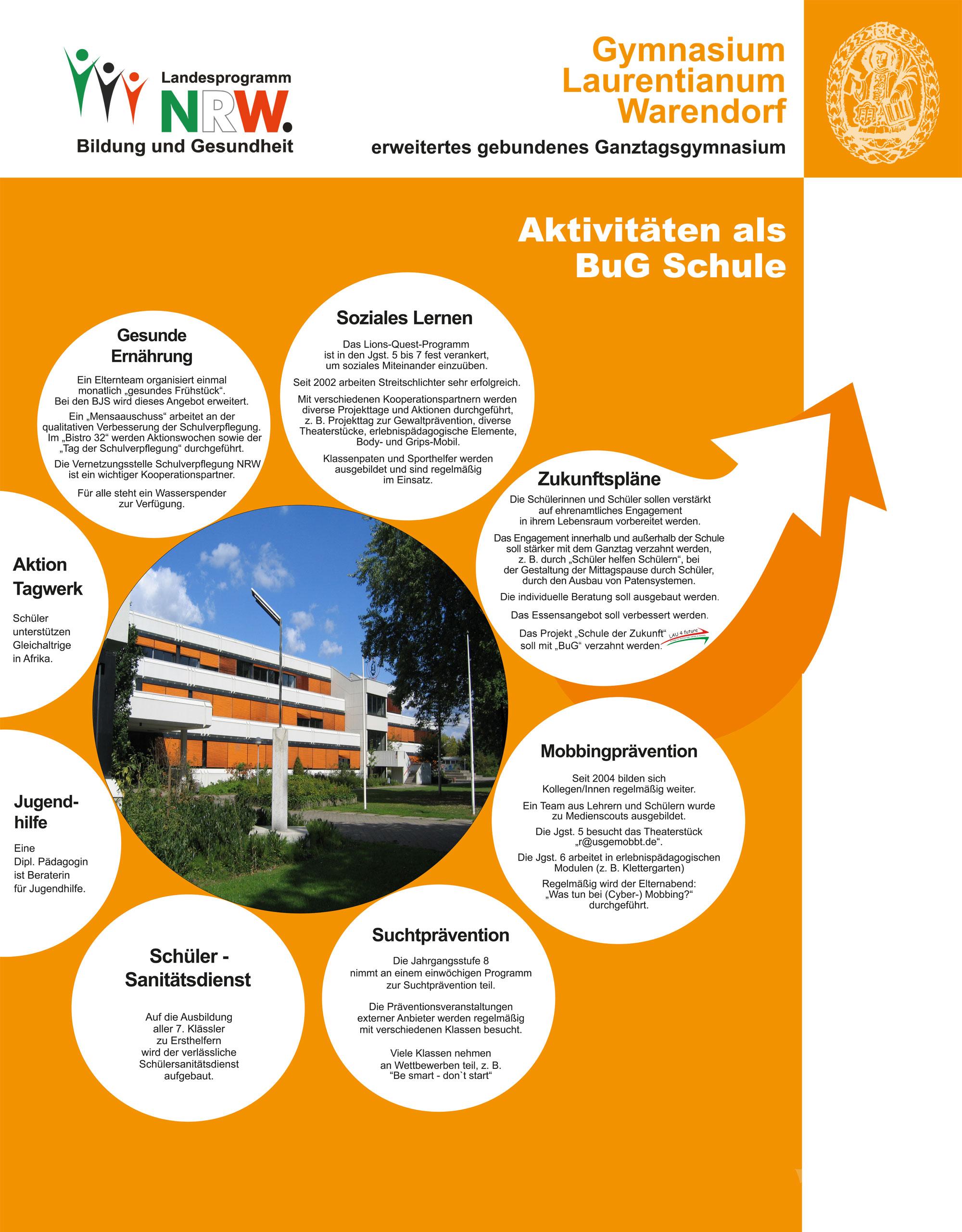 Poster Bildung und Gesundheit