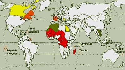 Französischsprachige Länder
